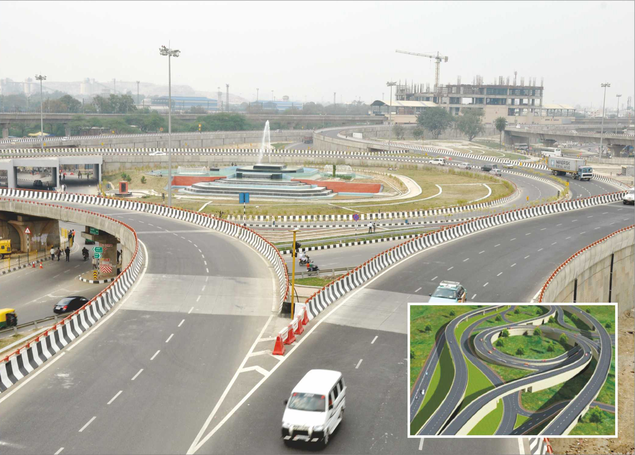 """BADARPUR ELEVATED CORRIDOR, NEW DELHI"""