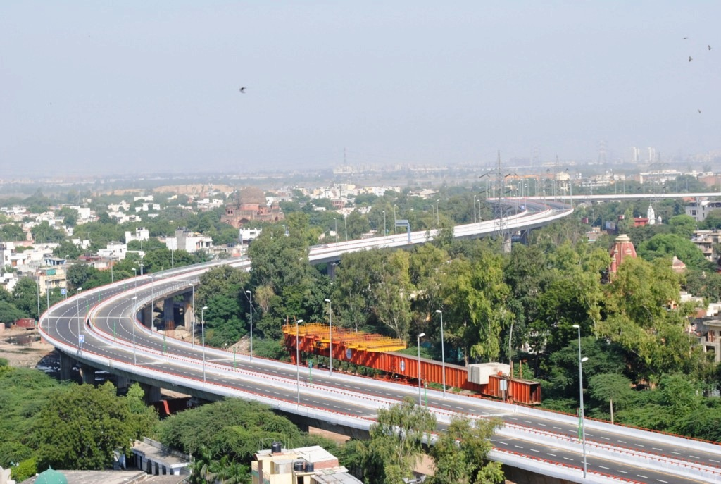 """BARAPULLA ELEVATED CORRIDOR - COMMONWEALTH GAMES - 2010, NEW DELHI"""
