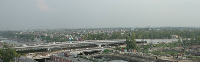 GRADE SEPARATOR AT GHAZIPUR INTERSECTION ON NH-24 BYPASS, NEW DELHI